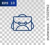 school bag icon | Shutterstock .eps vector #371025962