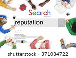 reputation popular ranking... | Shutterstock . vector #371034722