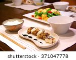 home cooked meal   hand made | Shutterstock . vector #371047778
