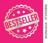 bestseller rubber stamp silver... | Shutterstock .eps vector #371052806