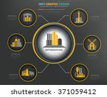 real estate factory industry... | Shutterstock .eps vector #371059412