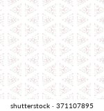 triangle seamless pattern.... | Shutterstock .eps vector #371107895
