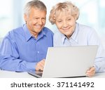 old couple | Shutterstock . vector #371141492