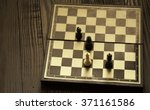 Small photo of Helpless King coming in the king, queen and rook, remains in matt position. inevitable position.