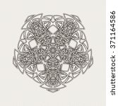 ornate mandala. gothic lace... | Shutterstock . vector #371164586