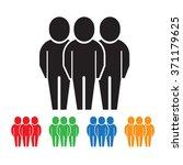 people icon illustration design | Shutterstock .eps vector #371179625