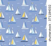 seamless pattern with geometric ... | Shutterstock .eps vector #371184032