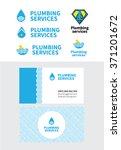 plumbing. plumbing service.... | Shutterstock .eps vector #371201672
