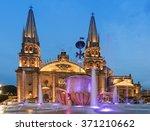 guadalajara  mexico   january 1 ...   Shutterstock . vector #371210662