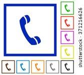 set of color square framed call ...