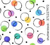 watercolor texture. aquarelle... | Shutterstock .eps vector #371227972