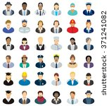 people icon set   different... | Shutterstock .eps vector #371241082
