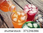 soft drinks | Shutterstock . vector #371246386