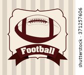 american football design  | Shutterstock .eps vector #371257606