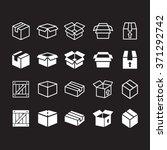 box icons.    Shutterstock .eps vector #371292742