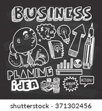 business concept doodle on...