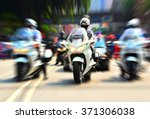 Policeman On Motorcycle...