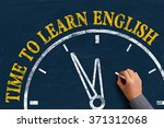 the language learning concept... | Shutterstock . vector #371312068