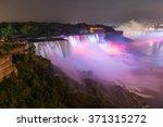 Niagara Falls By Night With...