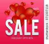 vector illustration of a sale...   Shutterstock .eps vector #371337118