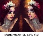 Gemini. Glamour Portrait Of...