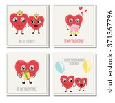 congratulations card with... | Shutterstock .eps vector #371367796