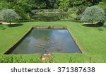 Ornamental Pond In A Country...
