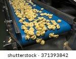 tortellini pasta production... | Shutterstock . vector #371393842