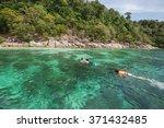 lipe thailand   february 1 2016 ... | Shutterstock . vector #371432485