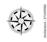 compass navigation dial  ... | Shutterstock .eps vector #371439082