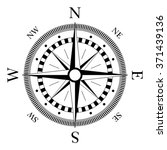 compass navigation dial  ... | Shutterstock .eps vector #371439136