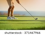 Golfer Is Going To Tee Off At...