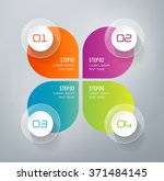 four steps infographics   can... | Shutterstock .eps vector #371484145