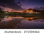 chiang mai  thailand at royal... | Shutterstock . vector #371504362