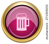 beer icon. internet button on... | Shutterstock .eps vector #371505052