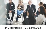 business people meeting... | Shutterstock . vector #371506015