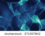 abstract blue background | Shutterstock . vector #371507842