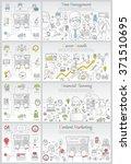 doodle line design of web... | Shutterstock .eps vector #371510695