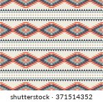 vector seamless decorative... | Shutterstock .eps vector #371514352