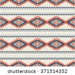vector seamless decorative... | Shutterstock .eps vector #371514352