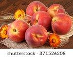Peach Fruits Still Life...