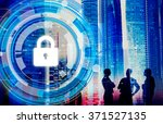 business corporate protection... | Shutterstock . vector #371527135