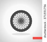 Motorcycle Wheel Icon
