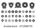 garlic  icon   Shutterstock .eps vector #371588755