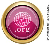 .org icon. internet button on... | Shutterstock .eps vector #371593282