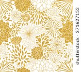 floral gold ornament. vector... | Shutterstock .eps vector #371627152