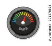 flat vector icon   illustration ... | Shutterstock .eps vector #371678836
