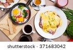 breakfast table | Shutterstock . vector #371683042
