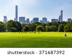 new york   september 19  views...   Shutterstock . vector #371687392