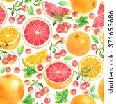 Seamless Watercolor Pattern...